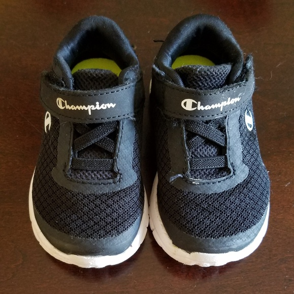 Baby Boys Black Champion Sneakers